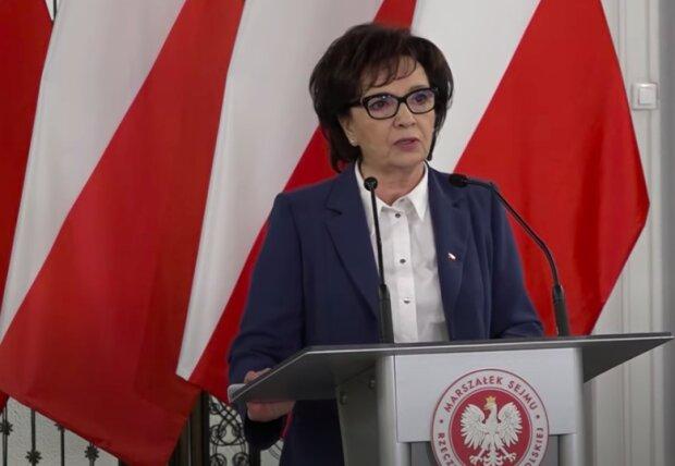 Marszałek Sejmu Elżbieta Witek / YouTube
