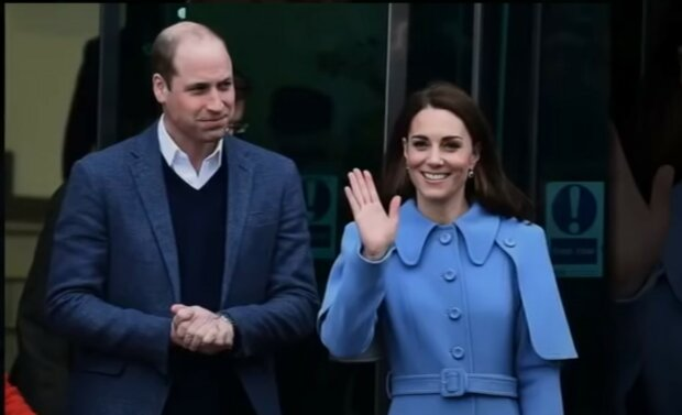 Kate and William, screen Youtube
