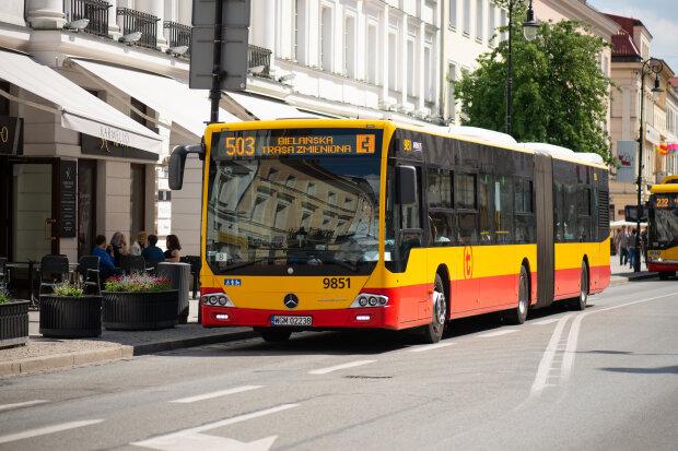 Warszawa, autobus miejski