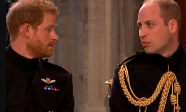 Książę William i książę Harry/screen YouTube