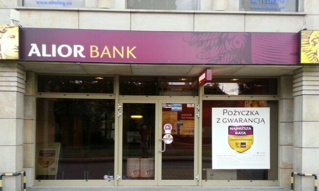 Problemy jednej z instytucji finansowych. Akcje Alior Banku mocno spadły