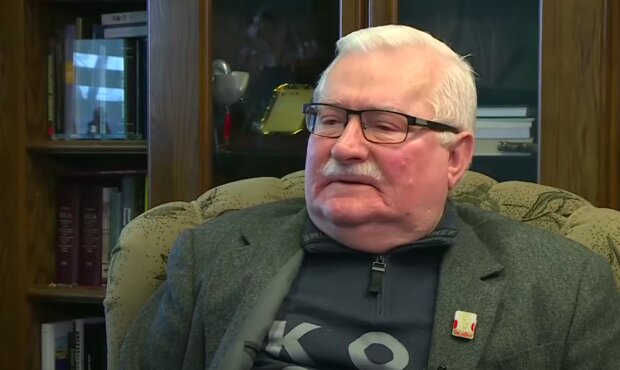 Lech Wałęsa / YouTube: Onet News