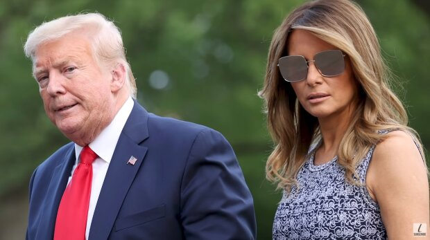 Donald Trump, Melania Trump. Źródło: Youtube The List