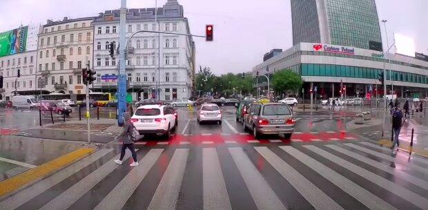 Utrudnienia w ruchu! / YouTube:  Kierowcy Warszawskich ulic