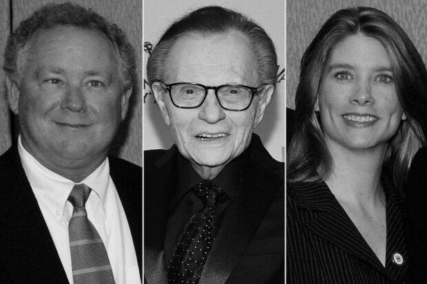 Znany dziennikarz Larry King stracił dwoje dzieci w ciągu jednego miesiąca