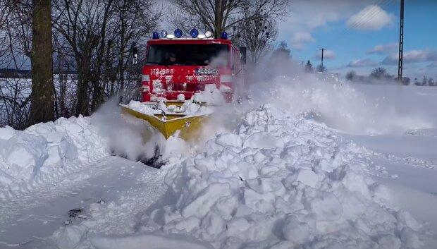 Kolejny atak zimy! / YouTube:  OSP Kobło