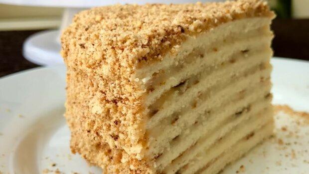 Ciasto bez pieczenia z 3 składników plus krem. Szybko i bardzo smacznie