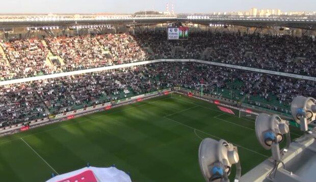 Legia Warszawa/ screen youtube