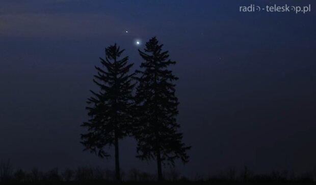 Jowisz i Saturn/ YouTube @Radio-Teleskop