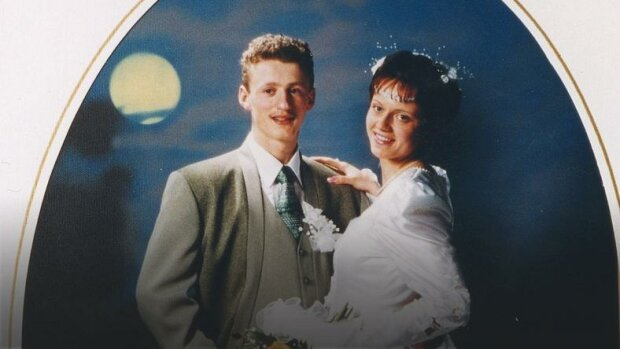 Adam Małysz z żoną