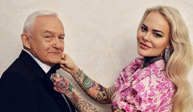 Leszek Miller i Monika Miller. Źródło: viva.pl