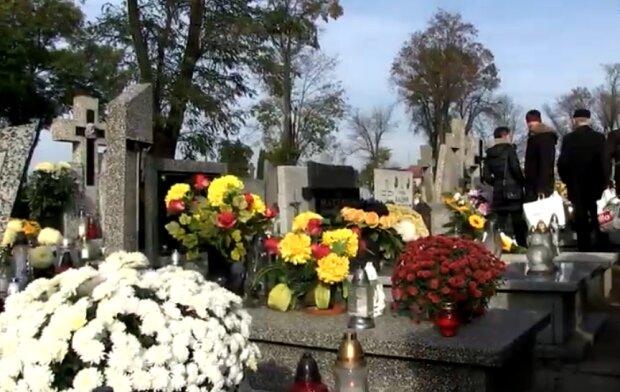 Cmentarz/ YouTube: Telewizja Kutno