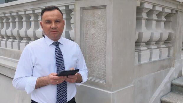 Andrzej Duda. Źródło: Youtube W Pałacu Prezydenckim