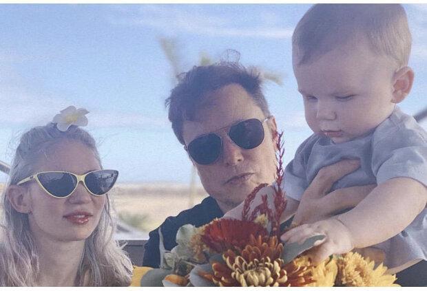 Grimes i Elon Musk. Źródło: youtube.com