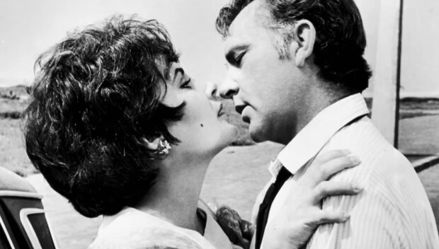 Elizabeth Taylor i Richard Burton. Źródło: youtube.com