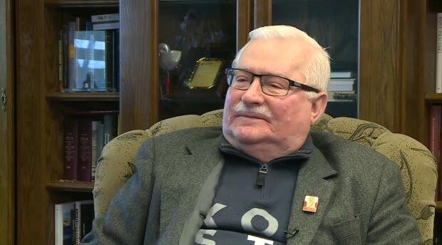 Lech Wałęsa. Źródło: Youtube Onet News
