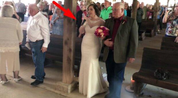 Tajemnicze dźwięki podczas ślubu. Goście nie mogli uwierzyć w to, co usłyszeli!