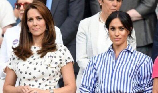 Kate Middleton i Meghan Markle. Źródło: plejada.pl