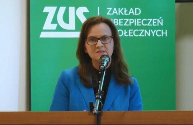 Gertruda Uścińska/screen Youtube @Akademia WSB