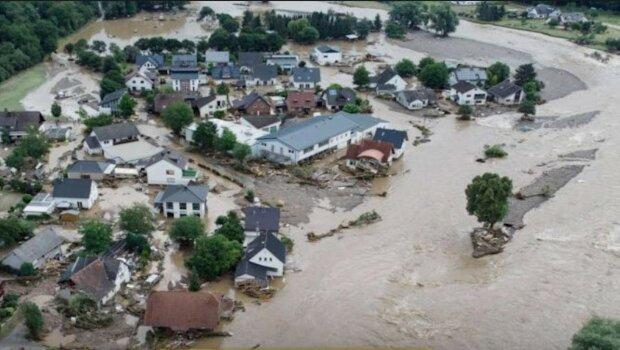 Powódź w Niemczech/Youtube @WION