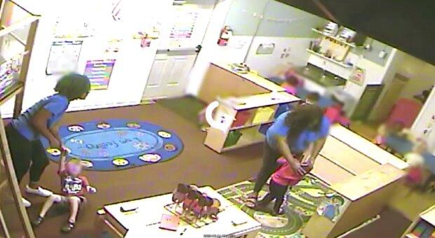 Agresywna przedszkolanka skarciła dziecko. Nagranie mrozi krew w żyłach. Jak tak można