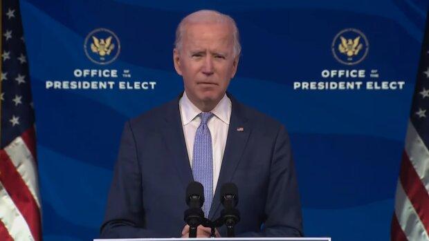 Joe Biden. Źródło: Youtube TIME