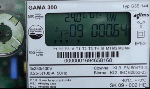 Licznik energii elektrycznej/YouTube @Panele Fotowoltaiczne