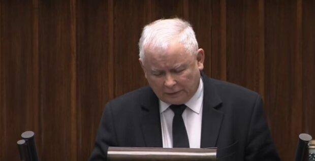 Jarosław Kaczyński. Źródło: Youtube