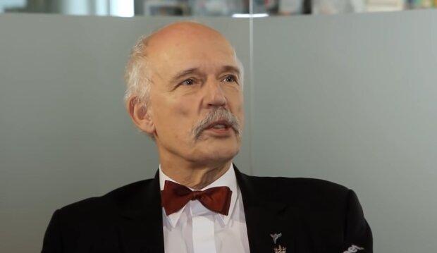 Janusz Korwin-Mikke/ YouTube @Onet News