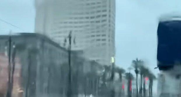 Opady deszczu wywołane huraganem Ida/YouTube @ABC News