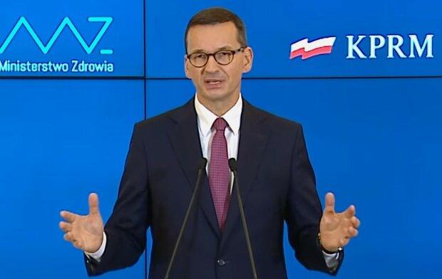Mateusz Morawiecki/screen Youtube @Kancelaria Premiera
