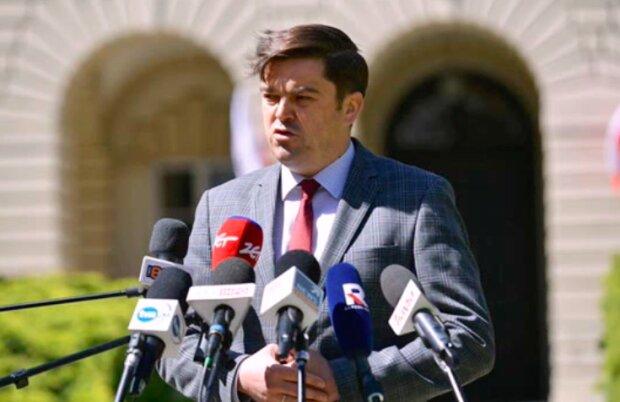 Rzecznik Ministerstwa Zdrowia - Wojciech Andrusiewicz / YouTube