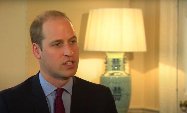 Książę William / YouTube:  BBC News