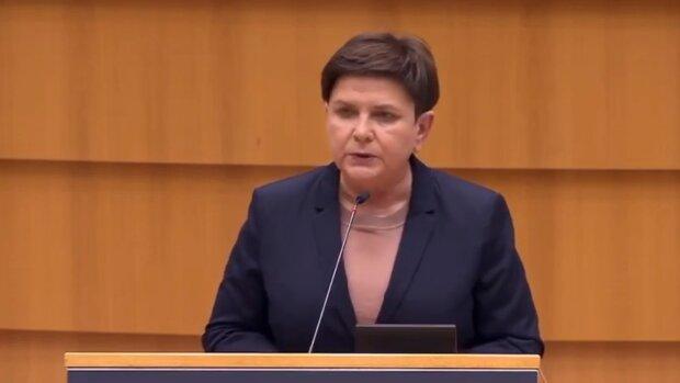 Beata Szydło. Źródło: Youtube Janusz Jaskółka