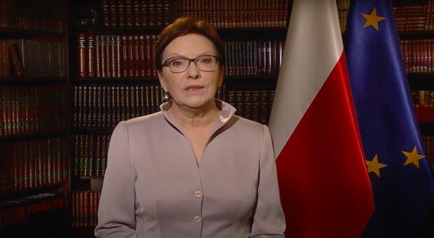 Ewa Kopacz / YouTube:  Kancelaria Premiera