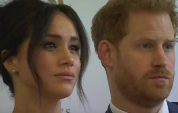 Meghan Markle, książę Harry/screen YouTube