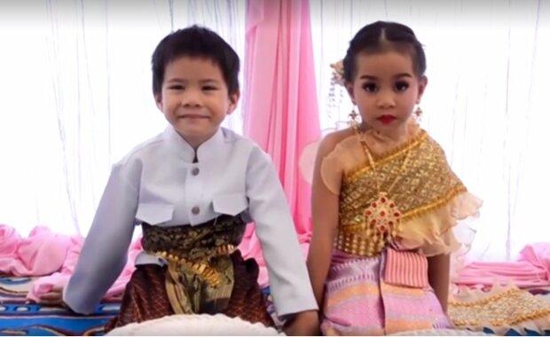Pięcioletnie bliźnięta wzięły ślub. Rodzice uważają, że są sobie pisani