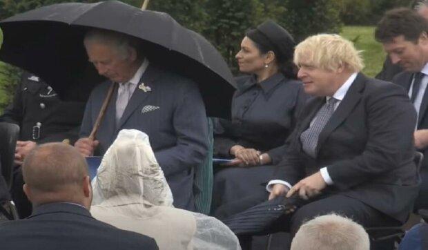 Wielka wpadka Borisa Johnsona./Youtube: The Sun