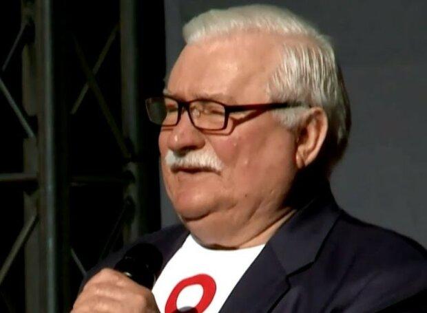 Lech Wałęsa/screen YouTube Onet News