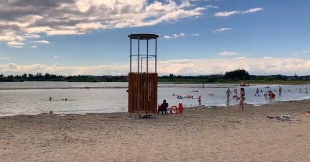 Małopolska: Kuter Port Nieznanowice stał się absolutnym hitem wakacji 2020 roku. Plaża i kąpielisko robi wrażenie