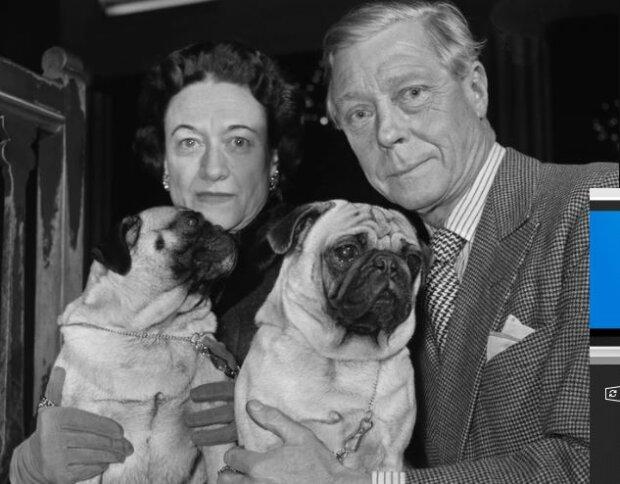 Edward VIII i Wallis Simpson. Źródło: plejada.pl
