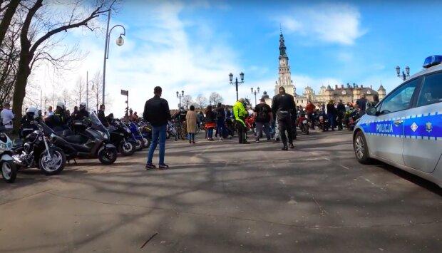 Zlot motocyklowy na Jasnej Górze / YouTube: N-Tuner