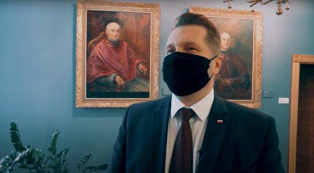 Minister edukacji narodowej - Przemysław Czarnek / YouTube:Ministerstwo Edukacji Narodowej