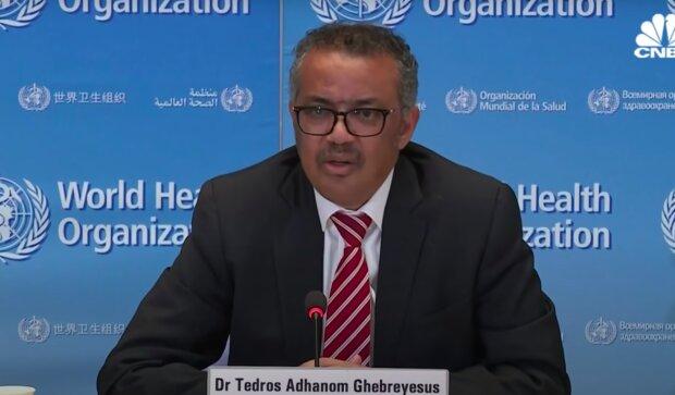 Szef Światowej Organizacji Zdrowia / YouTube:  CNBC Television