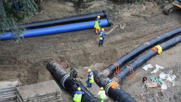 Budowa rurociągu/ http://warszawa.tvp.pl/