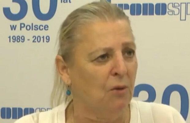 Aniela Sosnowska/screen YouTube @Ryszard Bańka