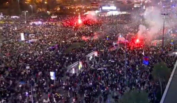 Strajk Kobiet w Warszawie/screen Youtube @Wirtualna Polska