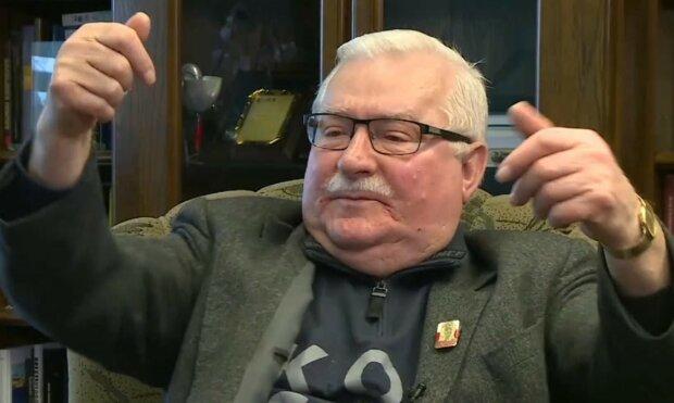 Lech Wałęsa/Youtube @Onet News