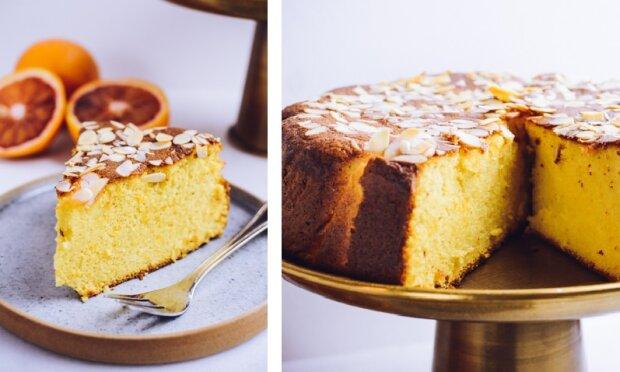 Przepis na najlepsze ciasto migdałowe z pomarańczą. Dzięki tej polewie zrobisz prawdziwą furorę wśród gości