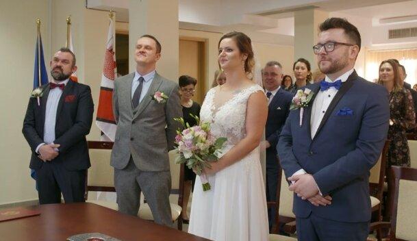 """Agnieszka i Wojtek ze """"Ślubu od pierwszego wejrzenia"""". Źródło: Facebook"""